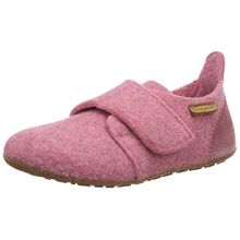 Bisgaard Unisex-Kinder Wool Velcro Slipper, Pink (91 Rosa), 33 EU