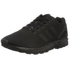 adidas ZX Flux, Unisex-Erwachsene Sneakers, Schwarz (Core Black/Dark Grey), 40 EU