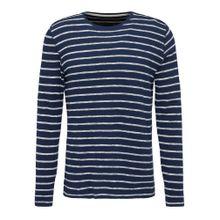 MUSTANG T-Shirt dunkelblau / weißmeliert