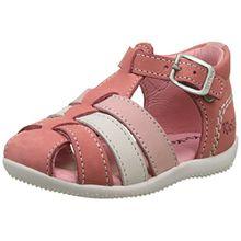 Kickers Baby Mädchen Bigfly Sandalen, Pink (Rose Blanc Rose Clair 133), 24 EU
