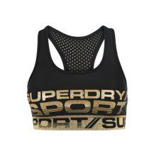 Superdry Bra gold / schwarz