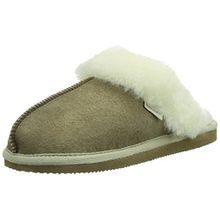 Shepherd JESSICA SLIPPER, Damen Pantoffeln, Beige (Stone 25), 38 EU