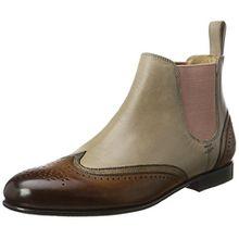 Melvin & Hamilton Damen Sally 19 Chelsea Boots, Mehrfarbig (Crust/Sokowash/Crust Mink (1,6)/Bronze (2,5)/Rope (3,4)), 36 EU