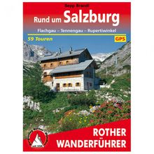 Bergverlag Rother - Rund um Salzburg - Wanderführer 6. Auflage 2019