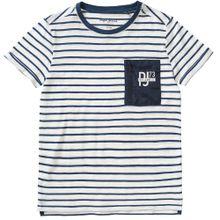 Pepe Jeans T-Shirt SANDRO für Jungen blau / weiß