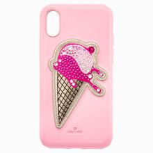 No Regrets Ice Cream Smartphone Schutzhülle mit integriertem Stoßschutz, iPhone® XS Max, rosa