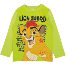 DISNEY Langarmshirt 'Disney Die Garde der Löwen' grün