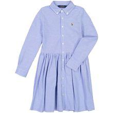 Polo Ralph Lauren Mädchen-Kleid - Blau (L, M, S, XL)