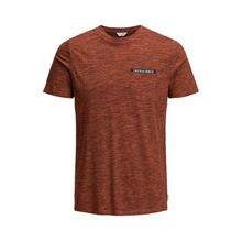 JACK & JONES Melange T-shirt Herren Rot