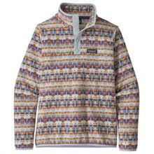 Patagonia - Women's Micro D Snap-T Pullover - Fleecepullover Gr L;M;S;XL;XS grau;blau;schwarz/blau/lila