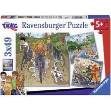 Ravensburger 3 X 49 Teile Abenteuer mit TKKG