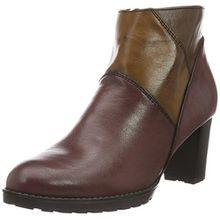 Jenny Damen San Vito-St Kurzschaft Stiefel, Mehrfarbig (Bordo,Cuoio/Marrone 65), 40 EU (6.5 UK)
