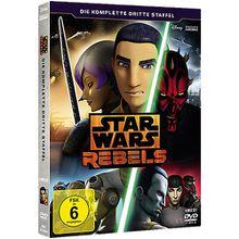DVD Star Wars Rebels - Die komplette 3. Staffel (4 Discs) Hörbuch