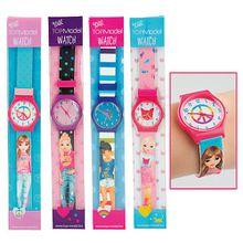 TOPModel Silikon-Armbanduhr Mädchen Kinder