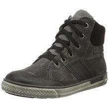 Superfit Luke 700208, Jungen Hohe Sneakers, Grau (Stone Kombi 06), 36 EU