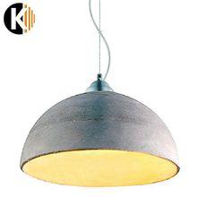"PREMIUM ZEMENT DESIGN ""HANG-19d"" Deckenlampe Pendelleuchte Pendellampe in Zement Grau, 1x E27 maximal 60 W ohne Leuchmittel"