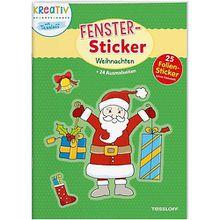Buch - Fenster-Sticker: Weihnachten