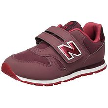 New Balance Unisex-Kinder Sneaker, Pink (Dark Pink/Red), 29 EU (11 UK Child)