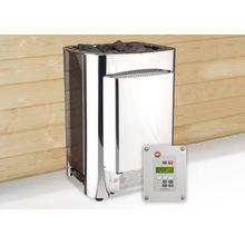 WEKA Set: Saunaofen »OS 11«, 11 kW, externe Steuerung, inkl. Zubehör