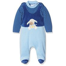 Sterntaler Strampler-Set Nicki Stanley, Alter: 4-5 Monate, Größe: 62, Blau