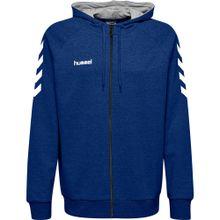 Hummel Pullover blau / weiß