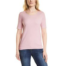 Cecil Damen T-Shirt 311780 Lena, Pink (Soft Blossom 11216), X-Small