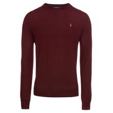 POLO RALPH LAUREN Pullover 'LS SF CN PP-LONG SLEEVE-SWEATER' weinrot