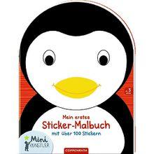 Buch - Mini-Künstler Mein erstes Sticker-Malbuch: (Pinguin)