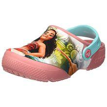 crocs Fun Lab Disney Vaiana Clog, Mädchen Clogs, Pink (Blossom), 23/24 EU
