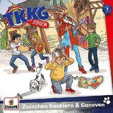 TKKG Junior 07/ Zwischen Gauklern und Ganoven, 1 Audio-CD Hörbuch
