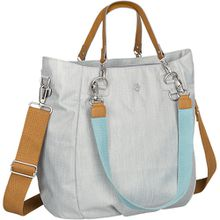 Wickeltasche Greenlabel, Mix´n Match Bag, Light grey hellgrau