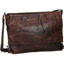 Harold's Notebooktasche / Tablet Saddle 2402 Kuriertasche Braun