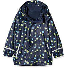 Sterntaler Kinder Unisex gefütterte Regenjacke, 3in1 Multifunktionsjacke, Alter: 4-6 Jahre, Größe: 110, Blau