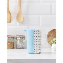 Root 7 - Vase/Becher mit blauem Design - Mehrfarbig