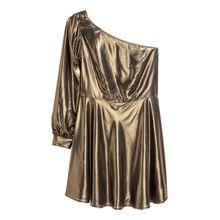 H & M - H & M+ Schimmerndes Kleid - Gold - Damen