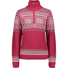 CMP WOMAN KNITTED PULLOVER WP Größe 40 Rot (MAGENTA)