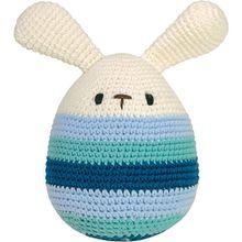 Häkel-Ei, groß, mit Ohren, 17cm