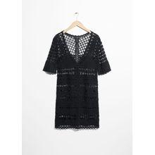 Crochet Dress - Black