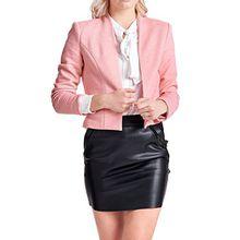 ONLY Damen Onldonna Ricks Short L/S Blazer Tlr, Rosa (Strawberry Ice Detail:Melange), 40