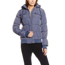 Fresh Made Damen Jacke D5071Y44113C, Blau (Special 19700), 38 (Herstellergröße: M)