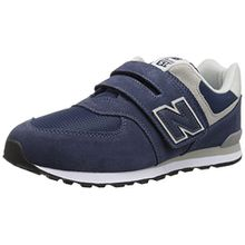New Balance Unisex-Kinder Iv574v1 Sneaker, Blau, 23 EU