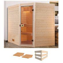 WEKA Sauna »Valida Eck 3«, 239x189x204 cm, ohne Ofen
