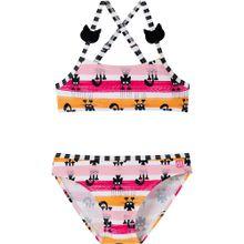 SCHIESSER Bikini orange / pink / rosa / weiß