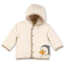 Sterntaler Kapuzen-Jacke Nicki Hanno für Babys, Alter: 3-4 Monate, Größe: 56, Ecru (Beige)