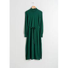 Merino Wool Dress - Green
