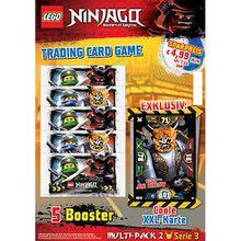 LEGO Ninjago MULTI-PACK NR. 2  mit XXL Karte   Serie III