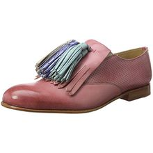 Melvin & Hamilton Damen Sally 57 Slipper, Pink (Venice Perfo/Venice Rose/Rose/Tassel Multi LS-Nat), 40 EU