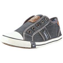 Mustang 5803-405-2, Unisex-Kinder Sneakers, Grau (2 grau), 36 EU