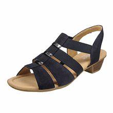 GABOR comfort - Damen Sandaletten - Blau Schuhe in Übergrößen, Größe:42