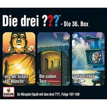 CD Die drei ??? 36 - 3er CD-Box (Folgen 107,108,109) Hörbuch